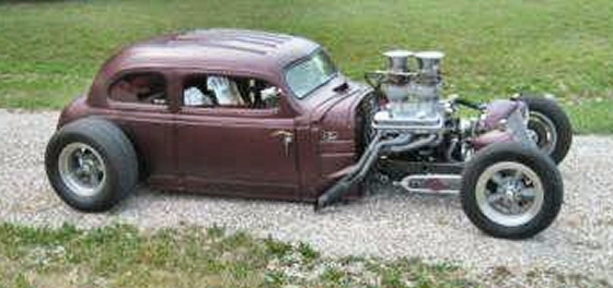 Photo of 1939 CHEVY  CHOPPED AND CHANNELED GROUND POUNDER ROD