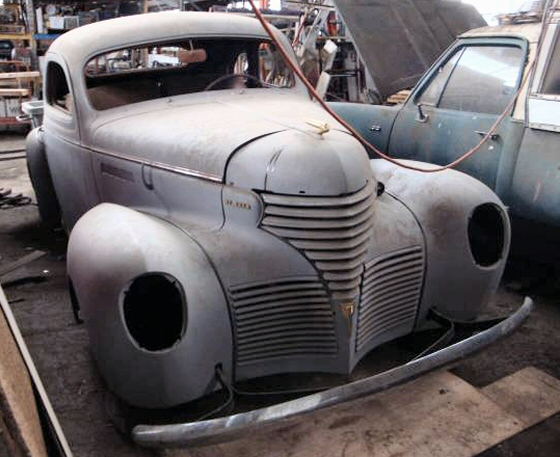 Photo of 1939 Desoto Business Coupe Project
