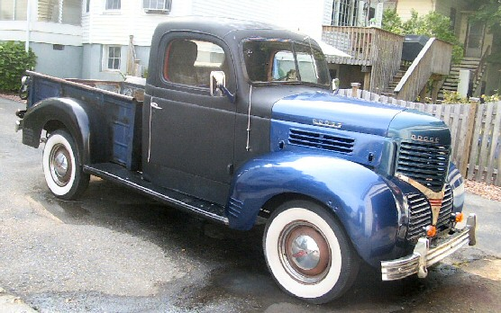 1939 Dodge half ton pick up