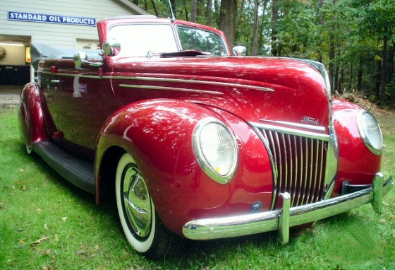 Photo of 1939 Ford 4dr Deluxe Sedan Convertible