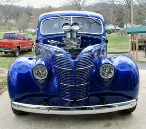 Photo of 1939 Ford Coupe All Steel Street Rod With Blower