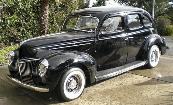 1939 ford fordor deluxe street rod for 1939 ford deluxe 4 door sedan