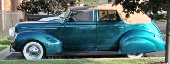 Photo of 1939 Ford Deluxe 4 DR Convertible Phaeton Steel Street Rod