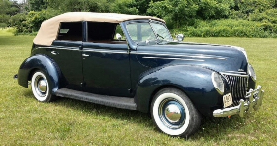 1939 Ford Deluxe All Steel 4DR Convertible Phaeton With Supercharged