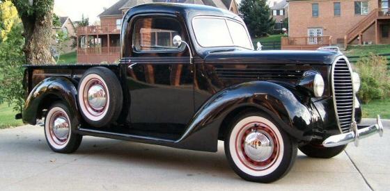 1939 Ford Pickup Original