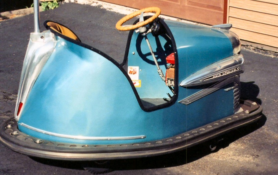 1939 Lussig Auto Scooter Bumpercar