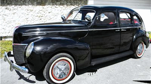 1939  Mercury 4 Door Sedan Street Rod