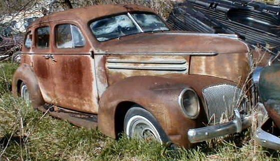 Photo of 1939 Studebaker Commander 4DR Sedan Project