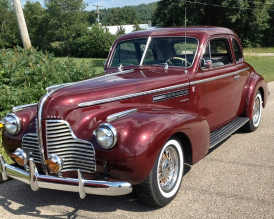 Photo of 1940 Buick Coupe Restored