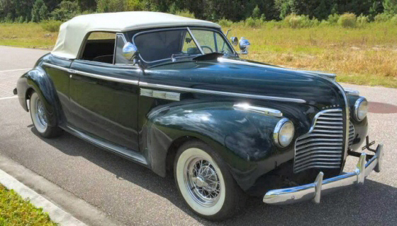 Photo of 1940 Buick Super 8 Series 50 Convertible