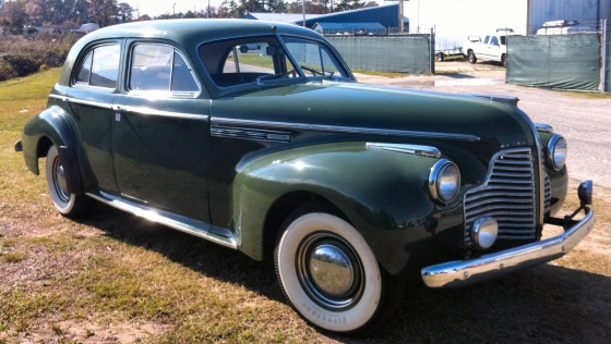 Photo of 1940 Buick Roadmaster 70 Four Door Sedan