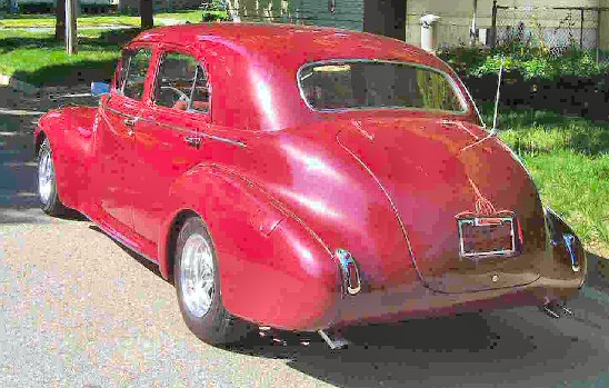 1940 Buick, Super 4 DR Street Rod