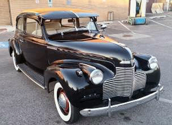 Photo of 1940 Chevrolet Master Deluxe 2DR Sedan All Original