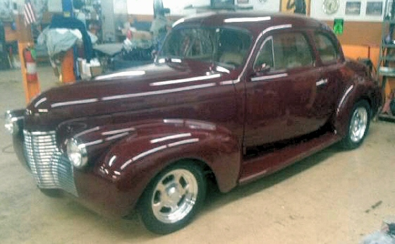 Photo of 1940 Chevy Business Coupe Street Rod