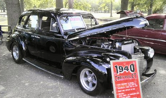 Photo of 1940 Chevrolet 4 Door Master Deluxe Sedan Street Rod