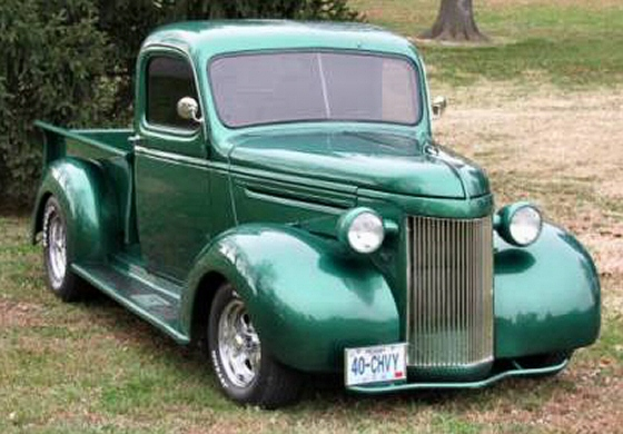 Photo of 1940 Chevy Pickup Steel Street Rod Completely Restored