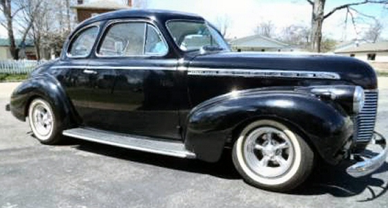 Photo of 1940 Chevy Special Deluxe Coupe Time Capsule Street Rod
