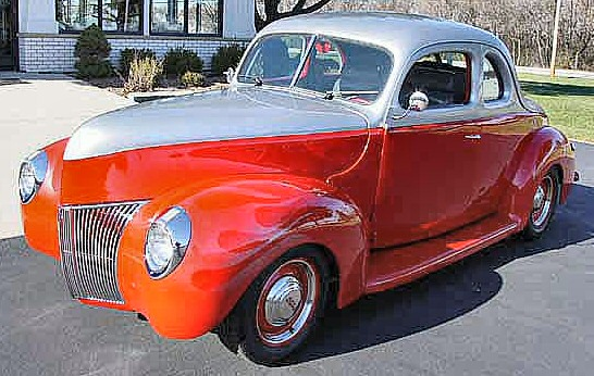 1940 Ford 2DR  Coupe Street Rod