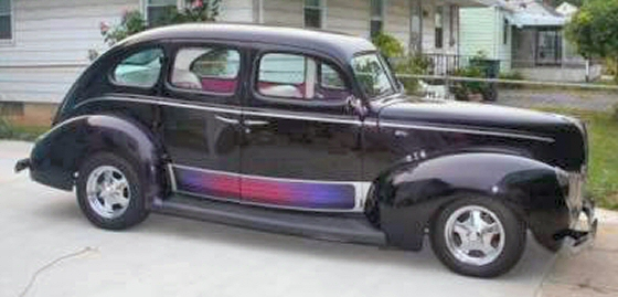 Photo of 1940 Ford Deluxe 4DR Sedan Street Rod