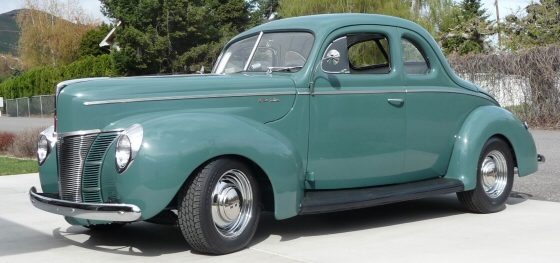1940 Ford Deluxe Opera Coupe Street Rod