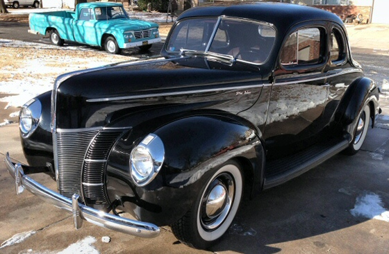 Photo of 1940 Ford Deluxe Coupe Street Rod