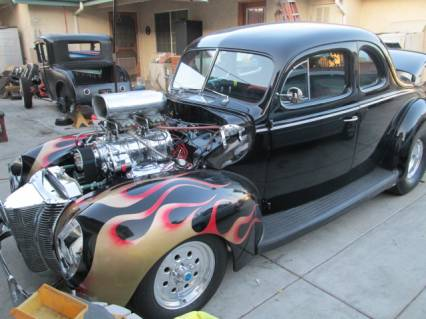 Photo of 1940 Ford Deluxe Blown Street Rod
