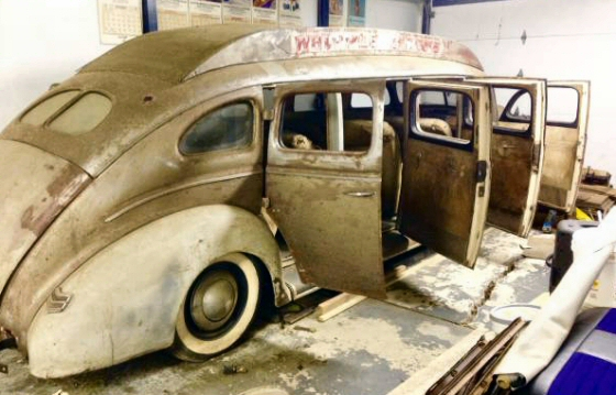 1940 Ford Limousine Last One Known To Exist