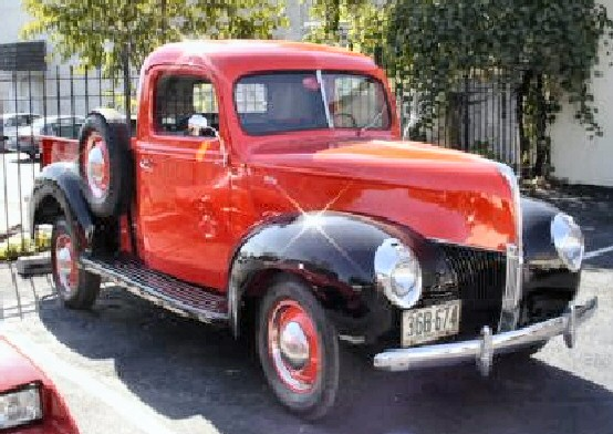 1940 ford pickup truck project for sale. Black Bedroom Furniture Sets. Home Design Ideas