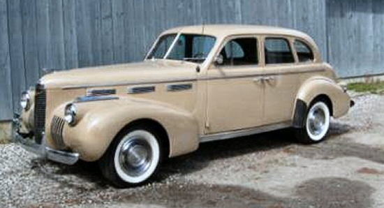 Photo of 1940 LASALLE 4 DR SEDAN