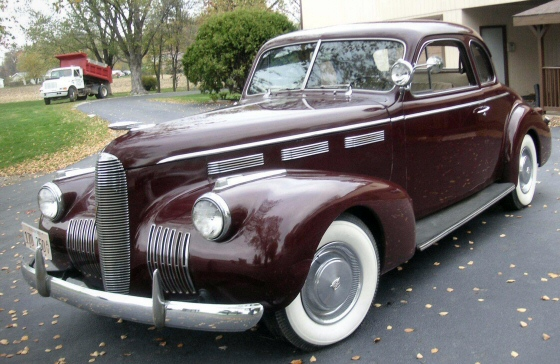 Photo of 1940 LaSalle Coupe