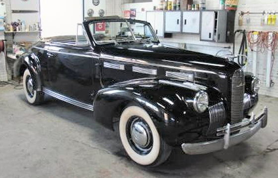 Photo of 1940 LaSalle Series 50 Convertible Coupe Model 40-5067
