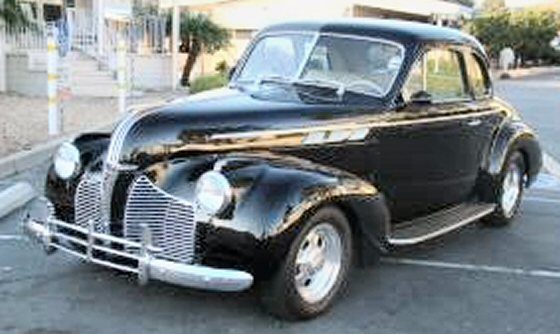 1940 Pontiac Coupe Street Rod