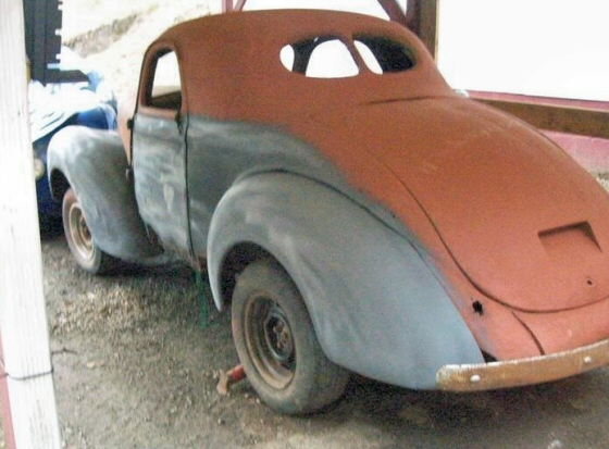 1940 Willys Project Cars for Sale