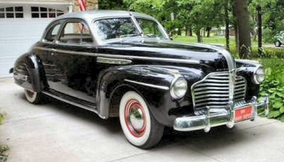 Photo of 1941 Buick Super Coupe With 33,000 Actual Miles