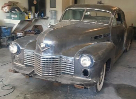 Photo of 1941 Cadillac Coupe Early Custom Project
