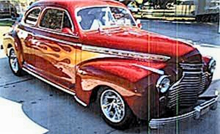 Photo of  1941 Chevy Coupe Steel Street Rod