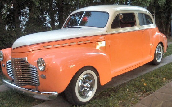 1941 All steel Chevy 2 door sedan Street Rod