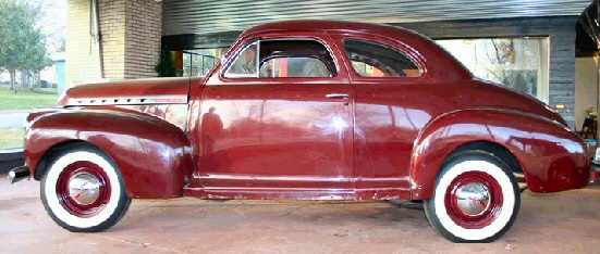 1941 chevy business coupe