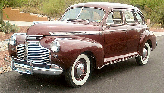 1941 Chevy Sedan Deluxe 4 Door