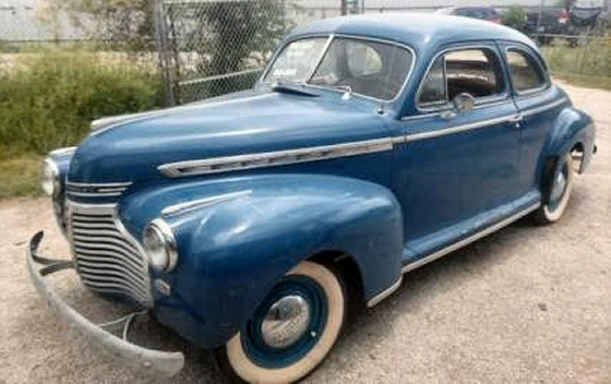 Photo of 1941 CHEVY DELUXE 2 DOOR COUPE  RUNNING PROJECT
