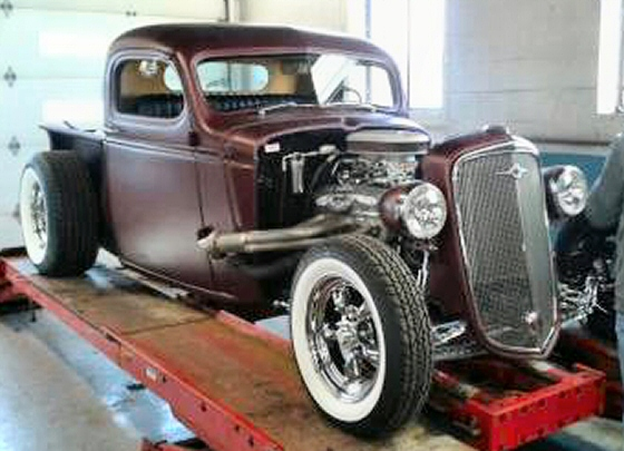 Photo of 1941 CHEVY PICKUP ALL STEEL PRO BUILT STREET ROD WITH TRI POWER