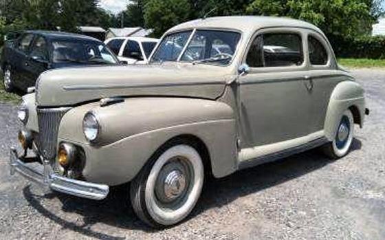 1941 ford club coupe original california car. Black Bedroom Furniture Sets. Home Design Ideas