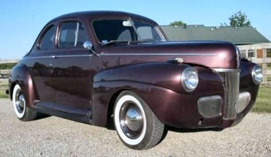 1941 ford business coupe all steel street rod. Black Bedroom Furniture Sets. Home Design Ideas