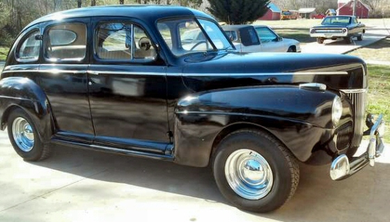 Photo of 1941 Ford Deluxe 4 DR Sedan With Flathead V8