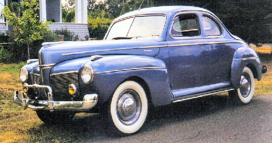 1941 Mercury 2 DR Coupe