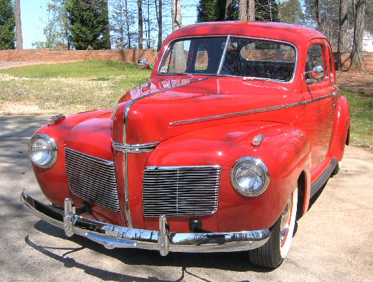 1941 Mercury club coupe
