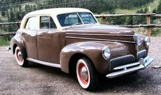 Photo of 1941 Studebaker Commander 4DR Sedan With Only 80,179 Miles