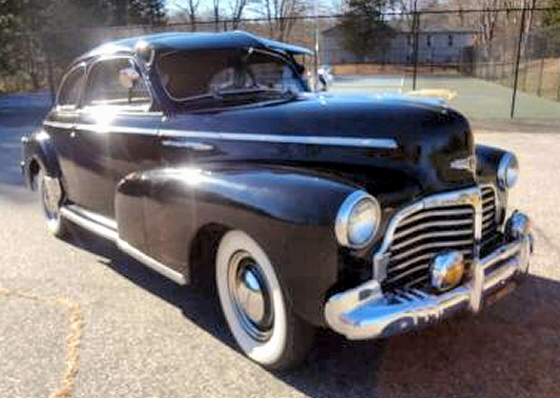 1942 Chevy Special Deluxe Coupe Restored Original