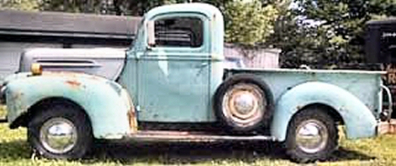 Photo of 1945 FORD PICKUP PROJECT TRUCK FLATTIE V8