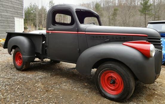 File:1945 Chevrolet D-series (NAS 299) pick-up truck, 2012 HCVS ...